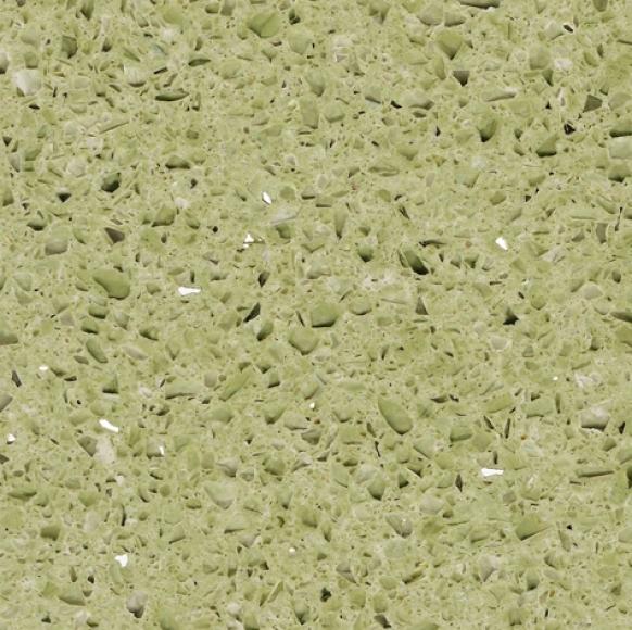 Агломерированный камень кварц Starlight Green