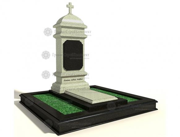 Мемориальный комплекс (гранитный памятник) № 4