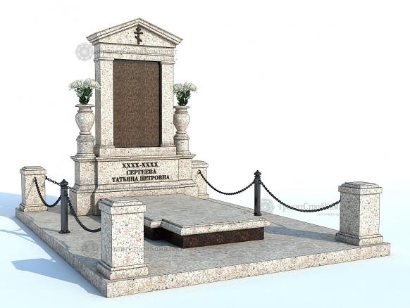 Мемориальный комплекс (гранитный памятник) № 3