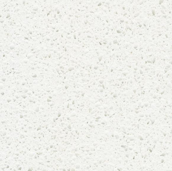 Агломерированный камень кварц Crystal Quartz White