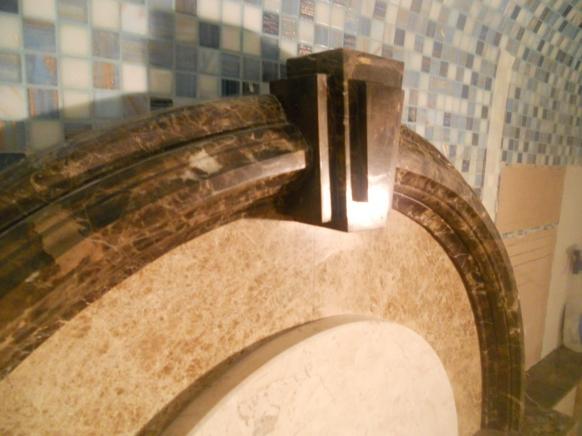 Архитектурный декор (бордюр) для хаммама
