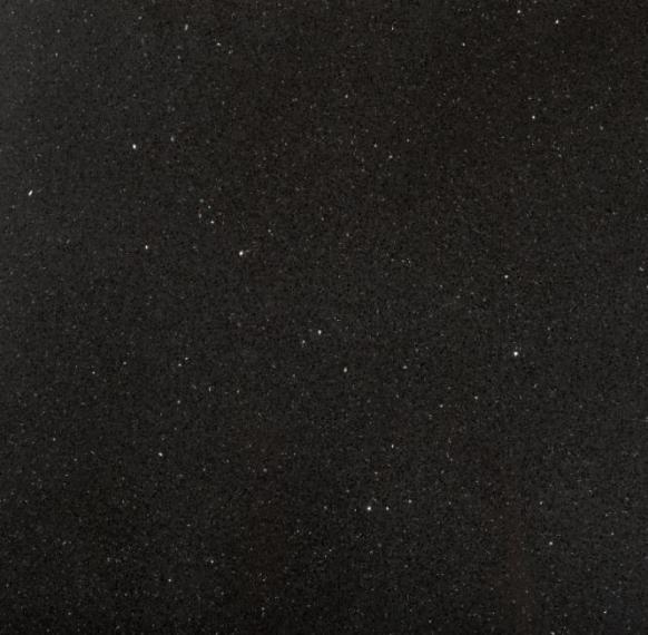 Агломерированный камень кварц Brilliant Black