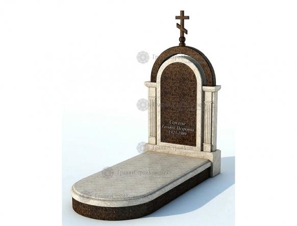 Мемориальный комплекс (гранитный памятник) № 1