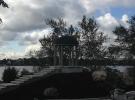 Ротонда гранитная Мансуровский гранит, заказчик Администрация г. Нижний Тагил, Свердловская область