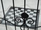 Мозаика из  натурального камня.Оформление камнем придомовой территории.