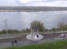 Колонны из Мансуровского гранита.Заказчик Администрация г. Пермь