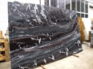 Облицовочная плита Гранит Нигрозеро (Гранатовый амфиболит) Модульная плита  на фасад