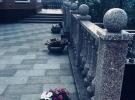 """Вазоны гранитные и вазоны мраморные серии """"Эконом 2019"""" на объекте у Заказчика,  сдача работ."""