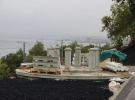 Реконструкция набережной на Речном Вокзале в г. Пермь. Еще одна ротонда производителя ГранитСтроКомплект сдана.