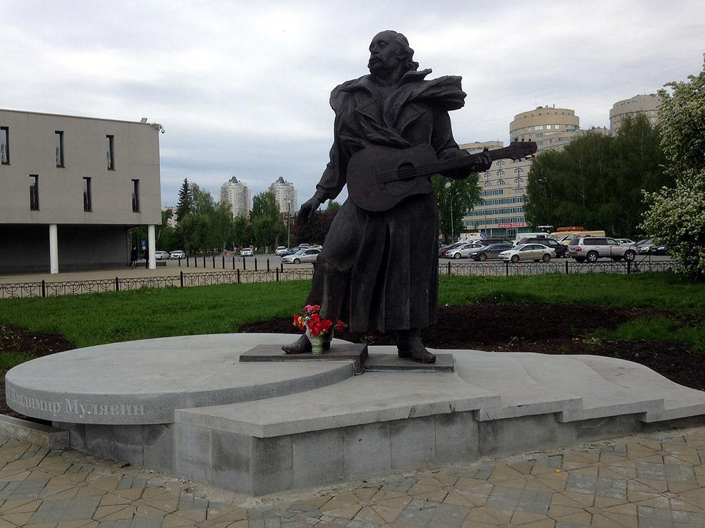 Мемориальный комплекс с арками и колонной Новоульяновск купить памятник из гранита на двоих человек стоимость на магистральной
